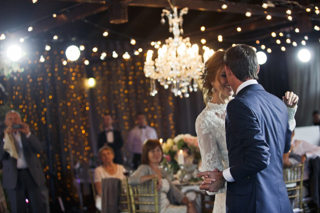 Mit dem Hochzeitstanz endet meist der Tag für den Zeremonienmeister