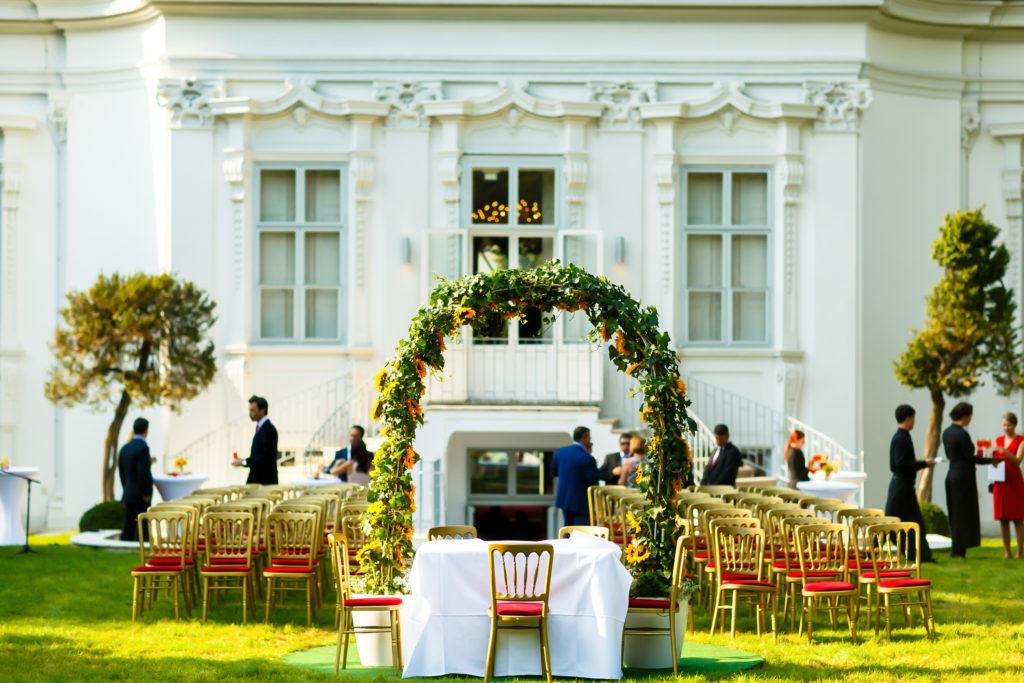 Hochzeitsplanung perfekte Location finden