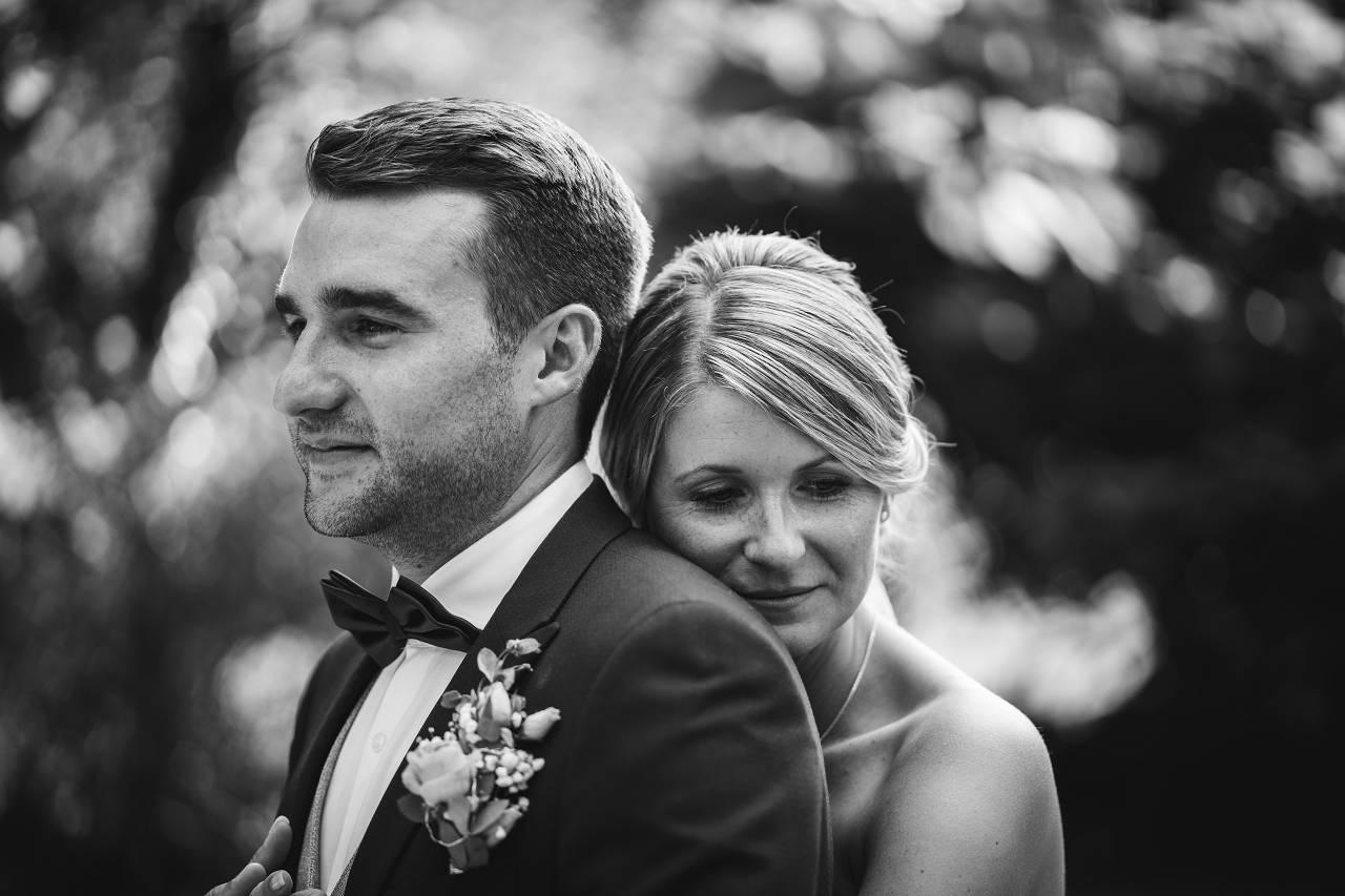 Ungestellte Fotos beim Hochzeitsshooting