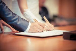 Ehevertrag Eheschließung