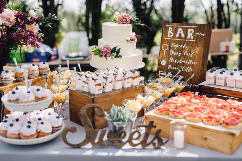 Hochzeitstrend Candy Bar