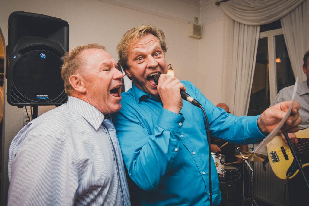 Entertainment auf der Hochzeit Karaoke