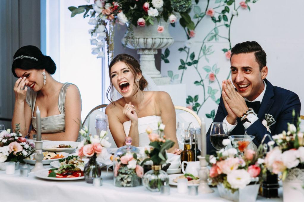Hochzeitsessen Mix aus Menü und Buffet