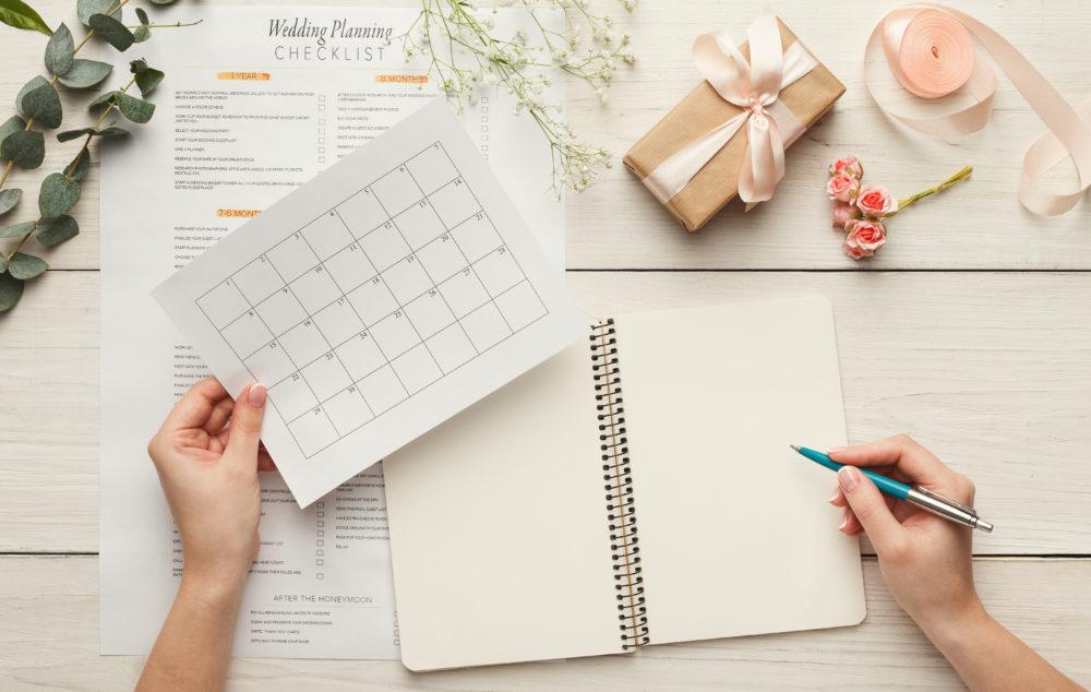 Hochzeit planen Tagesplan erstellen