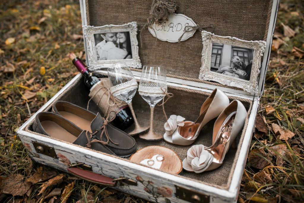 Hochzeitsritual Erinnerungskiste