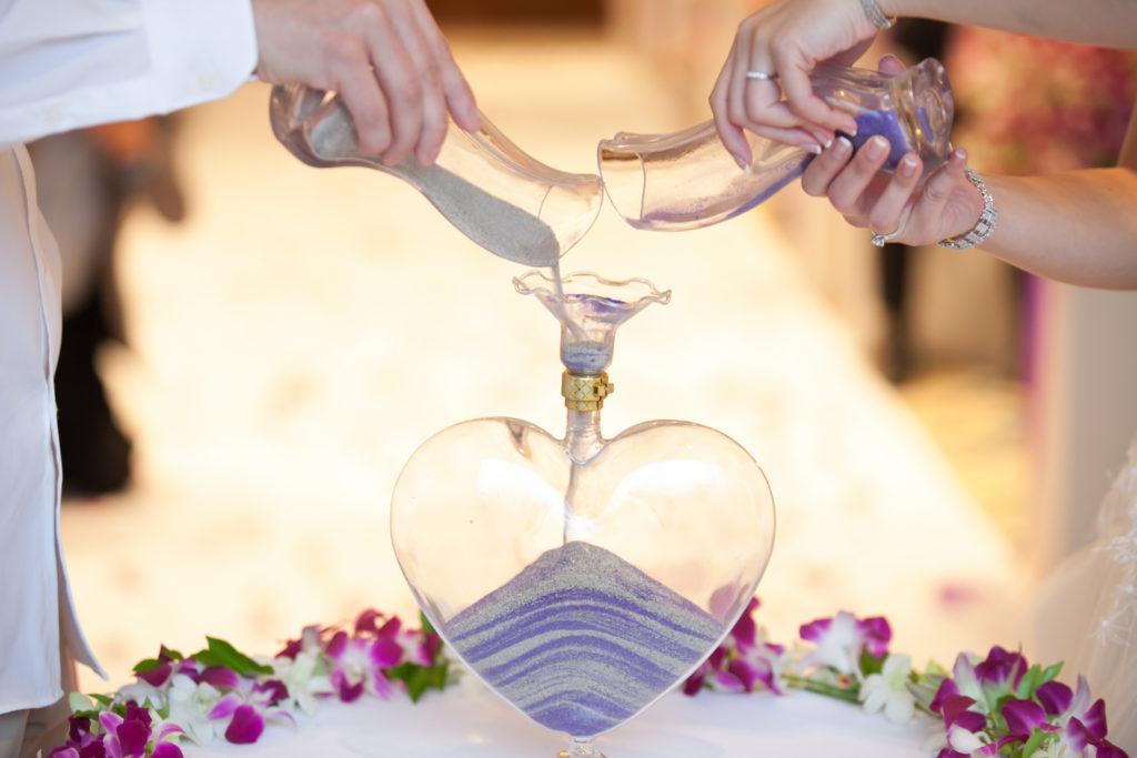 Hochzeitsrituale Sandritual