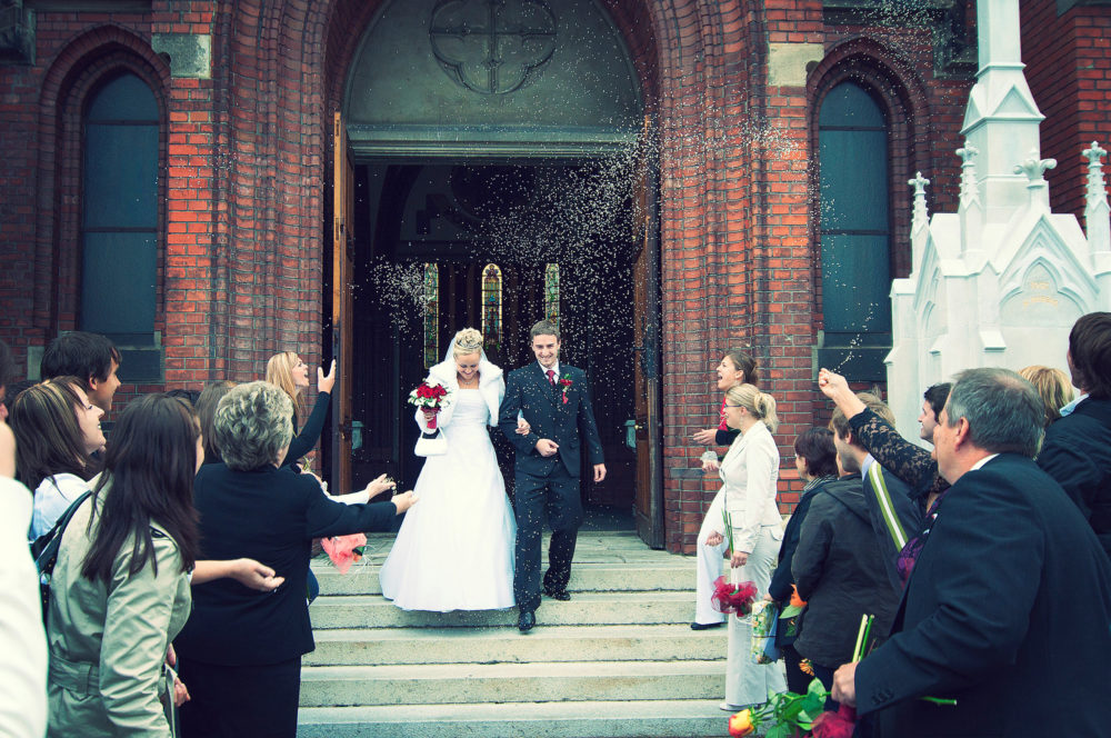 Empfang nach der Trauung Wedding Wands
