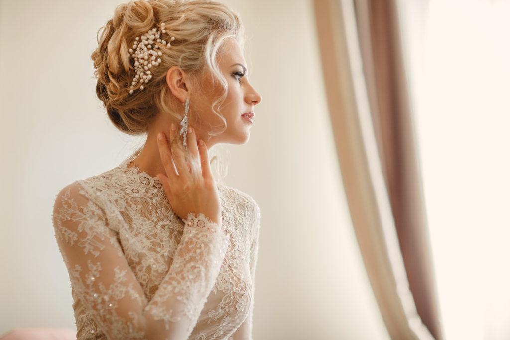 Kosmetiker vor dem Hochzeitstag