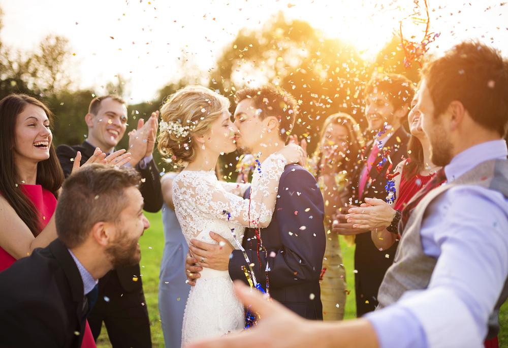 am Hochzeitstag nichts mehr planen