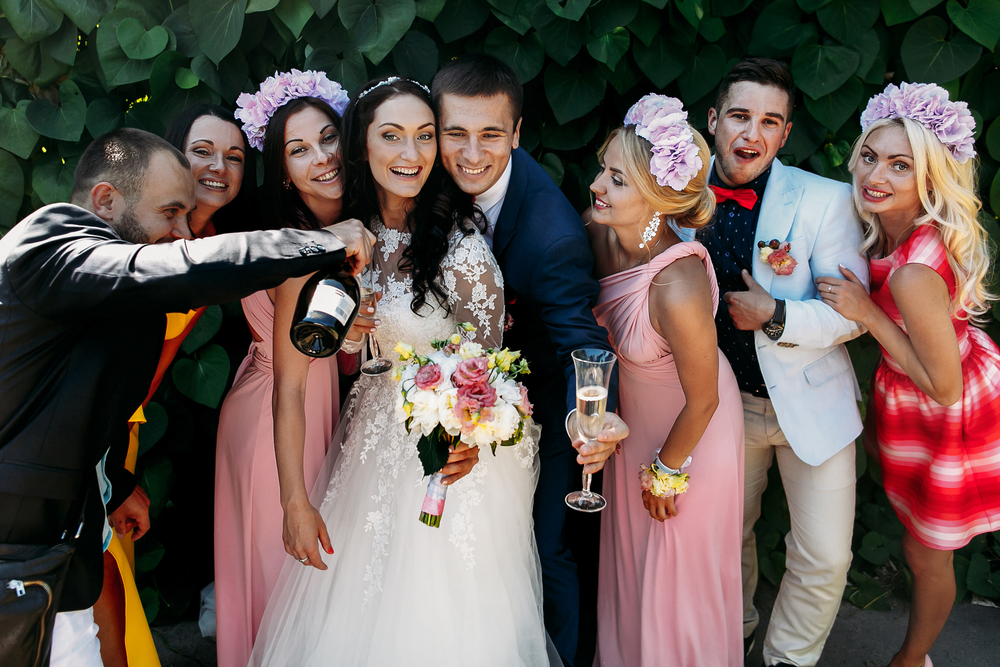 Hochzeitsbudget effektiv einsetzen eigener Wein