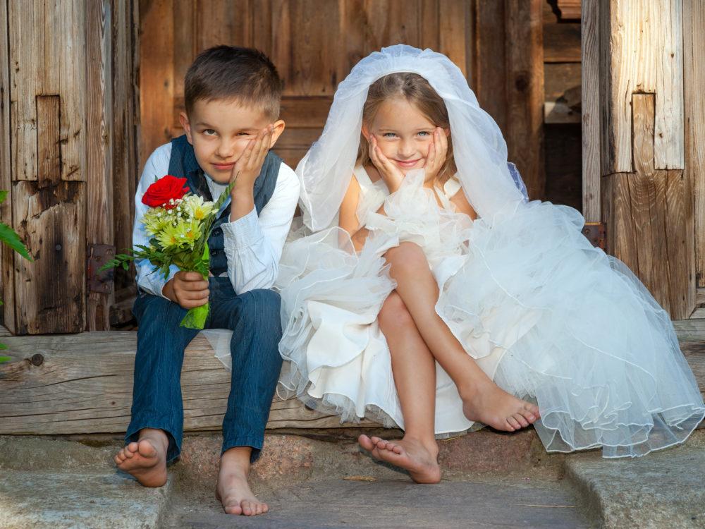 Hochzeitsstatistiken Kinder vor der Ehe