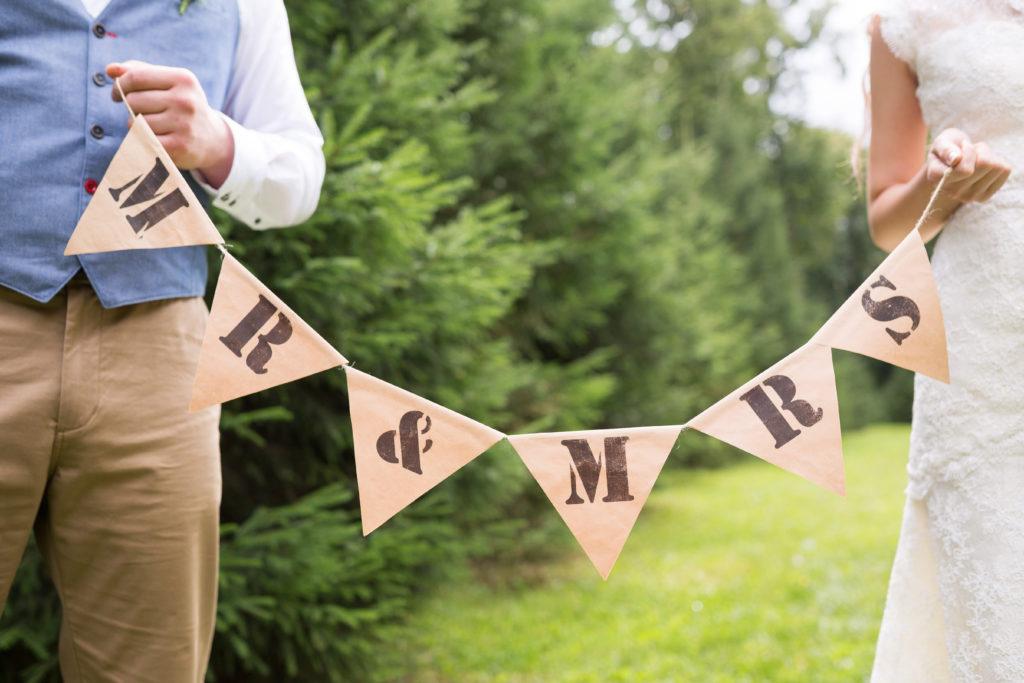 personalisierte Hochzeit
