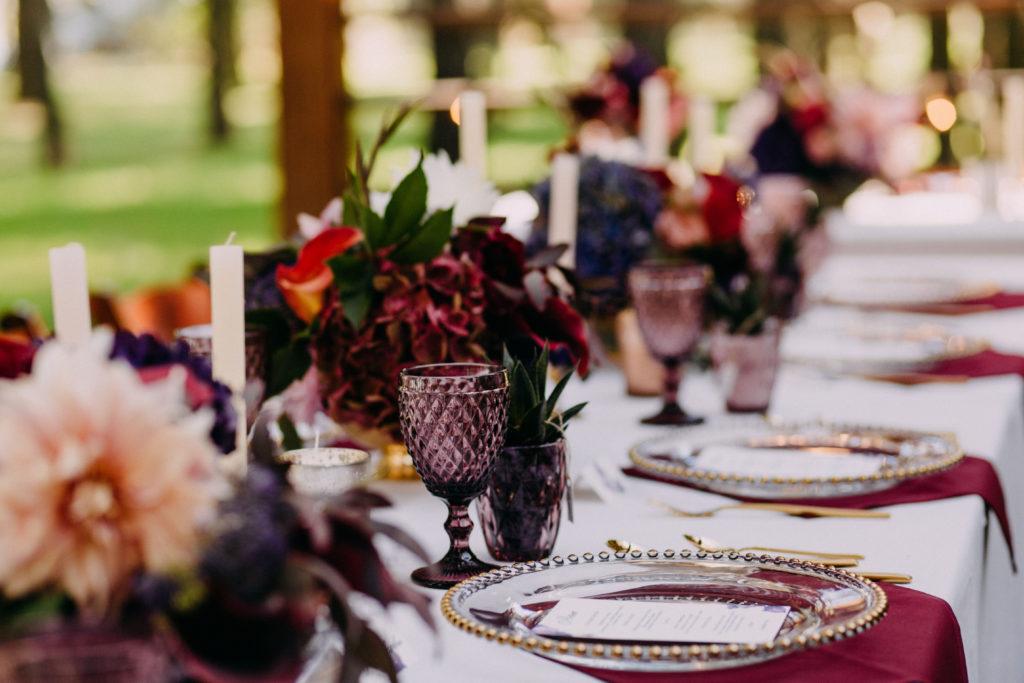 Hochzeitsdeko Stilmix