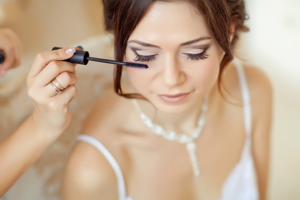 Brauttasche Mascara Styling Make Up