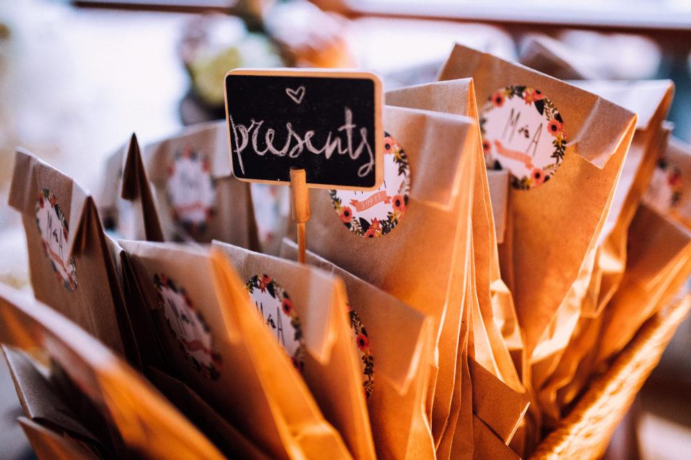 Gastgeschenke Besorgungen Hochzeitsplanung