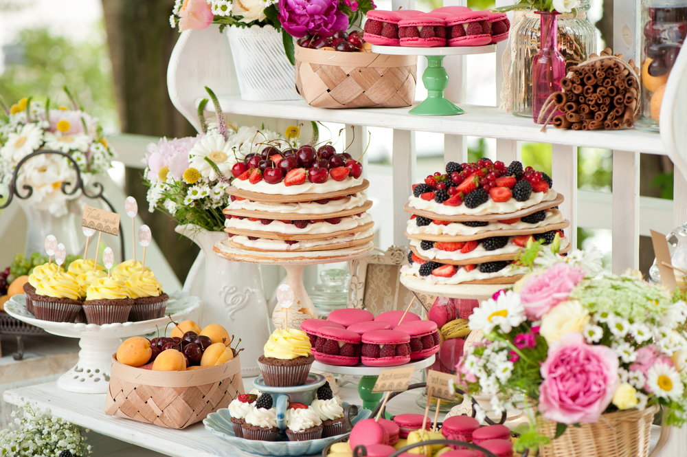 Alternative zur Hochzeitstorte Sweet Table
