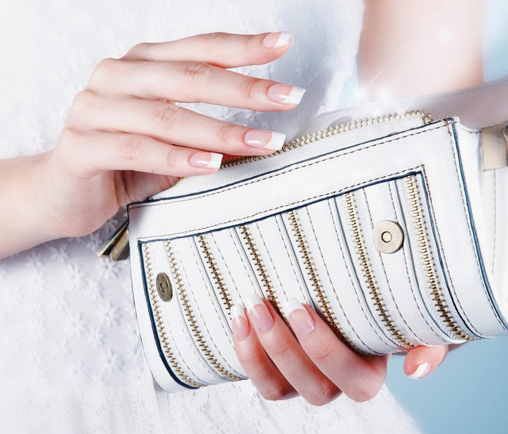 Getting Ready Hochzeit Braut Tasche