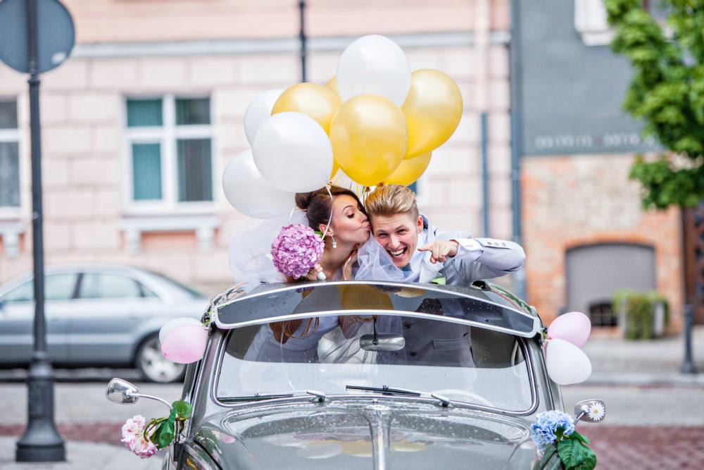 Hochzeitsluftballons Brautpaarshooting