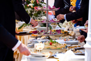 Hochzeits-Catering externer Caterer