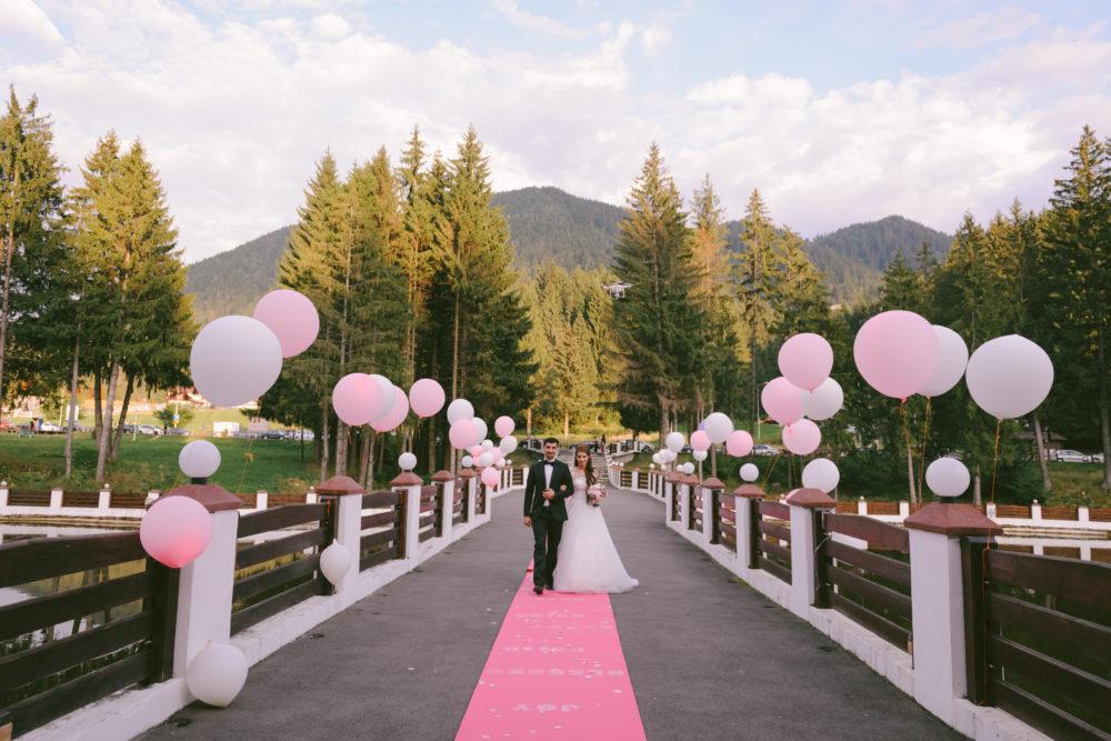 Hochzeitsluftballons Eingang Dekoration