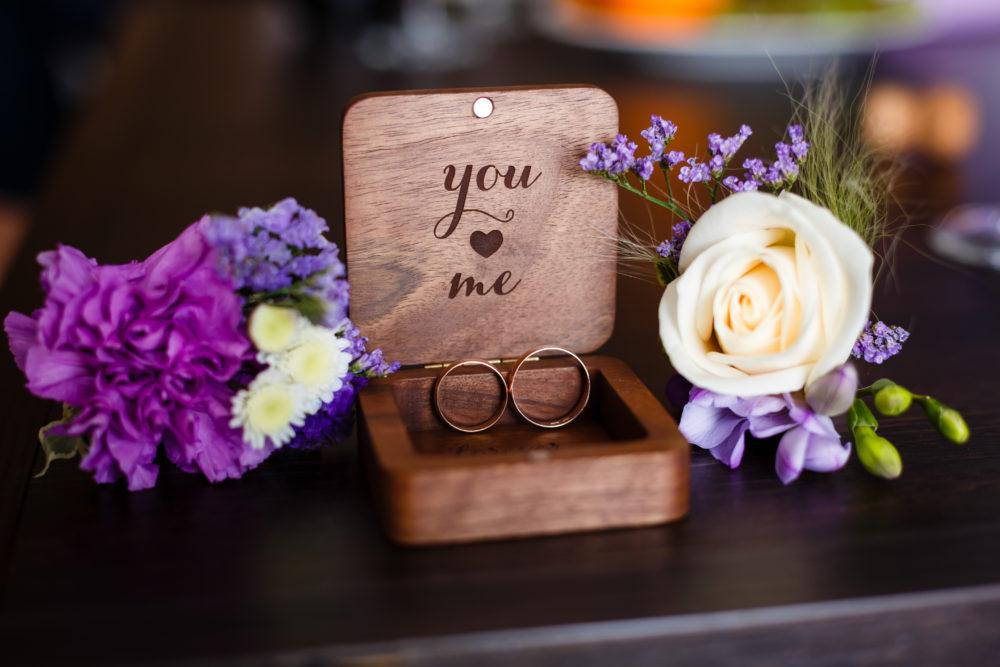 Alternative zu Ringkissen Hochzeit Ringkästchen holz