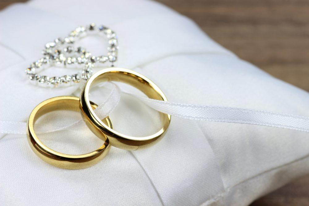 Notfallkiste Hochzeitsplanerin Ringkissen