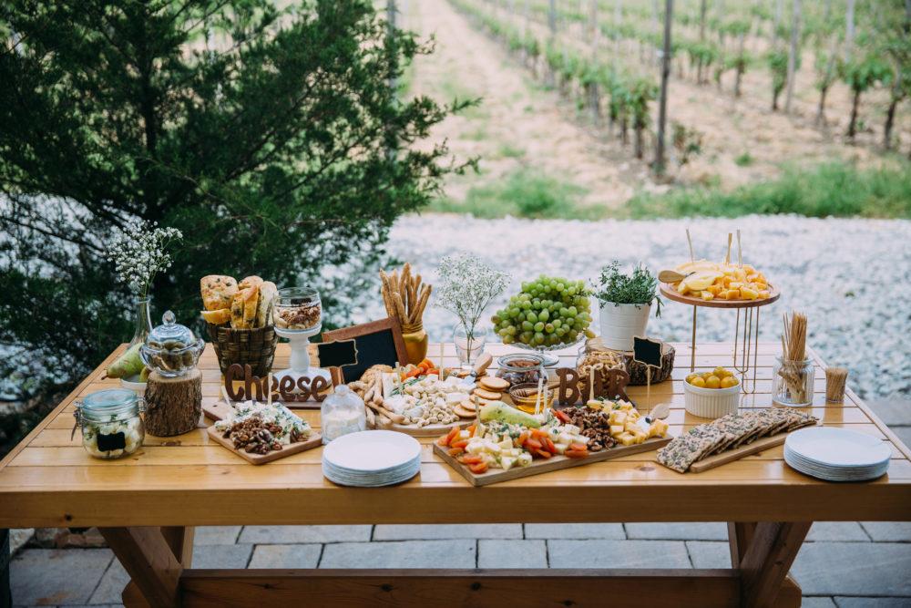Hochzeit im eigenen Garten Salty Bar