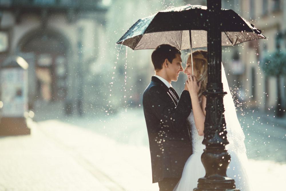 Locationbesichtigung für die Hochzeit Schlecht-Wetter-Alternative
