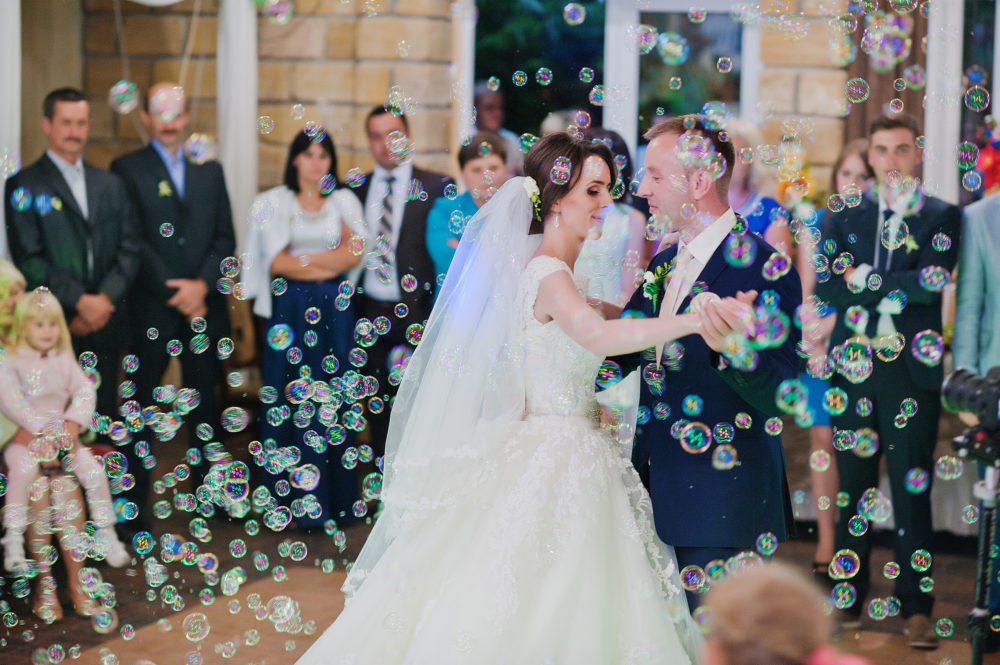 Alternative zu Wunderkerzen Wedding Bubbles