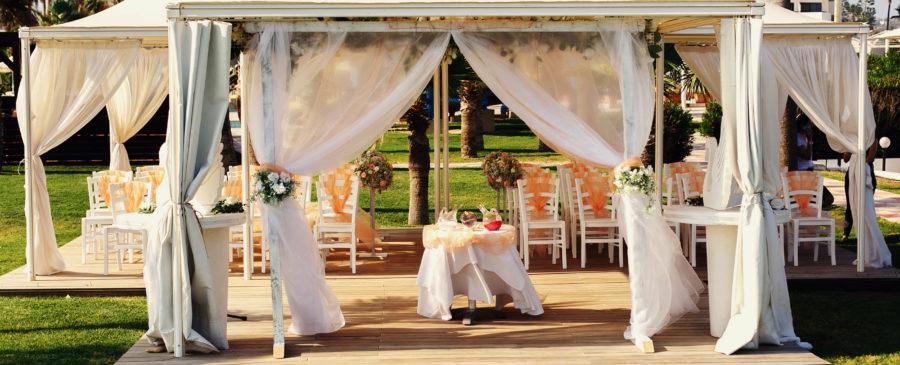 Säulen der Hochzeitsplanung Hochzeitslocation