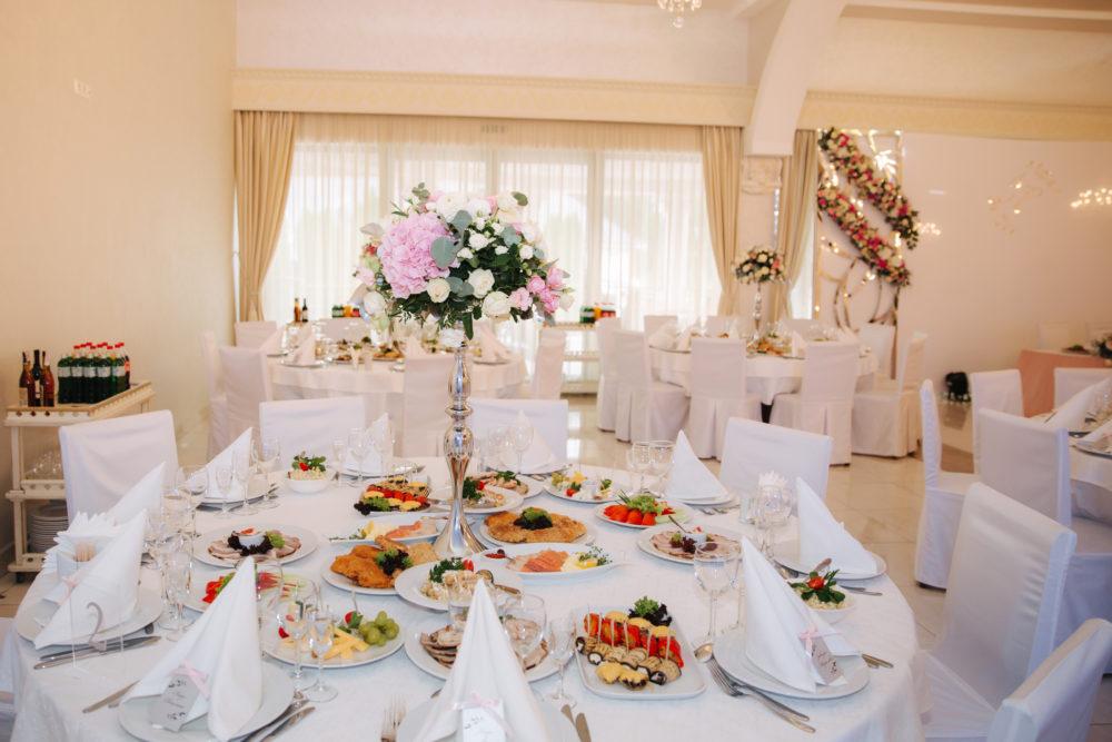Hochzeits-Catering Absprache mit Hochzeitslocation