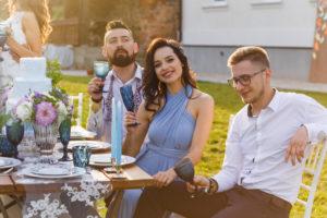Polterabend organisieren Whatsapp Einladung Hochzeit