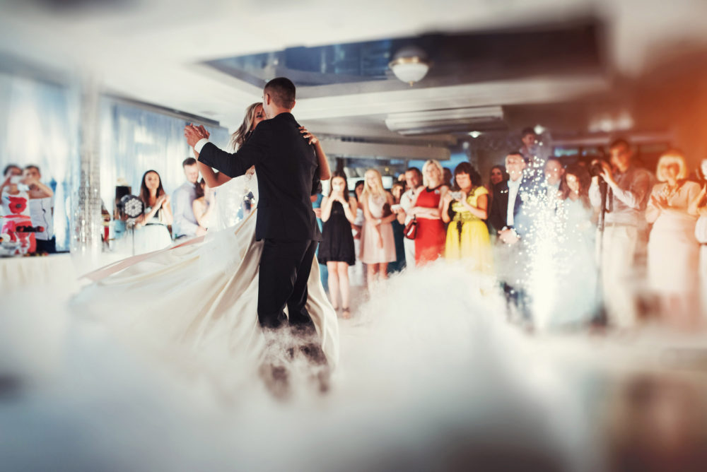 Alternative zu Wunderkerzen Hochzeitstanz