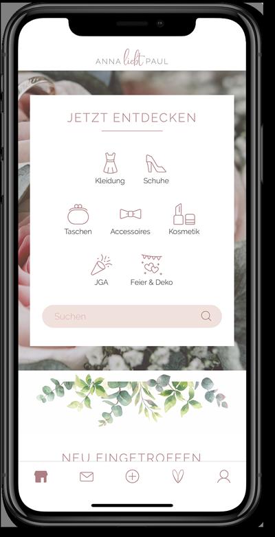 Nachhaltige Hochzeit Anna liebt Paul App Startseite