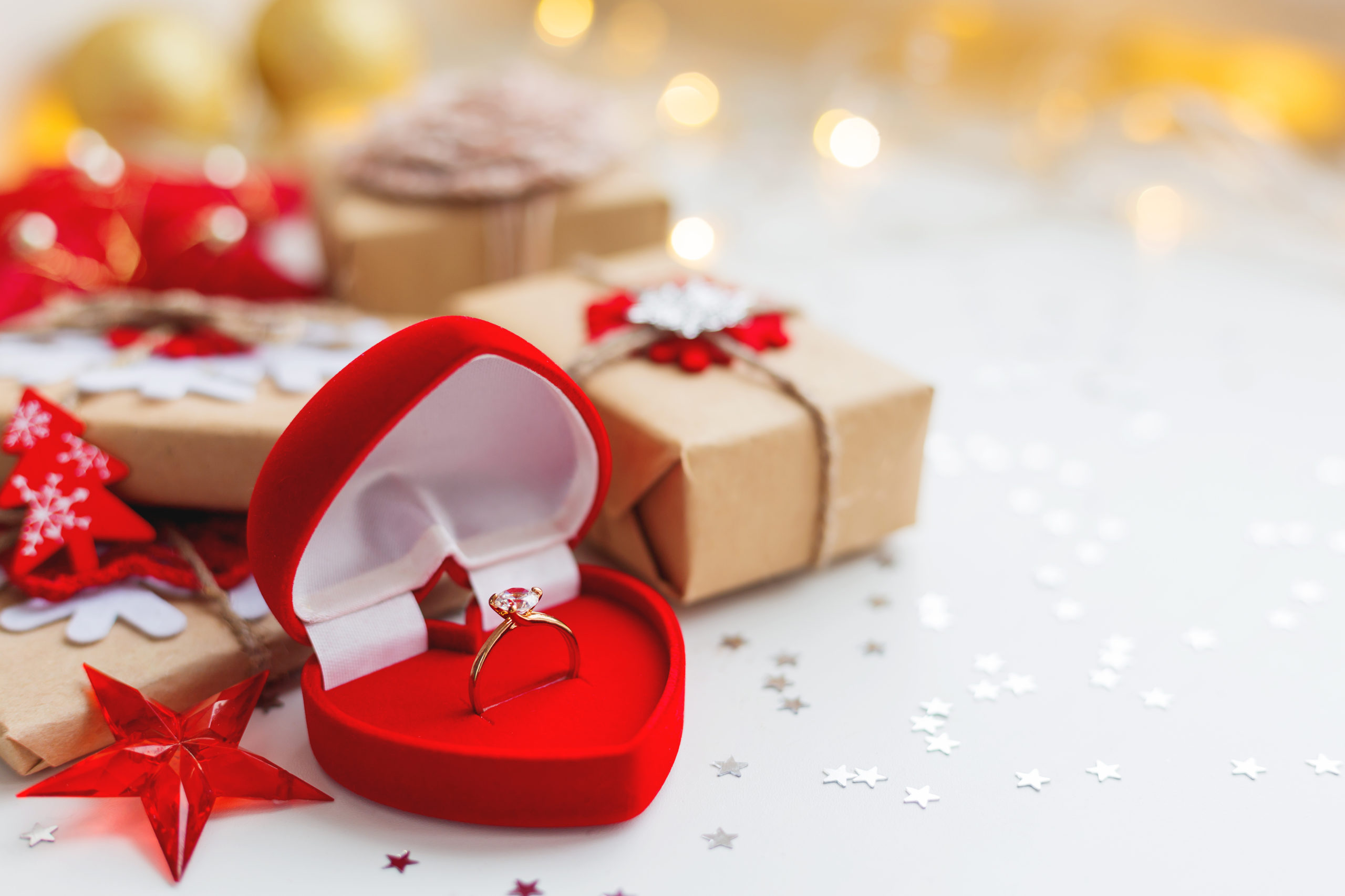 Heiratsantrag an Weihnachten