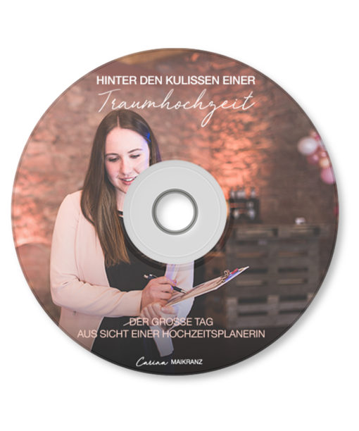 produkt Hörbuch hinter den kulissen einer traumhochzeit Carinas Hochzeitsplanung Carinas Bundle
