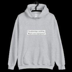 unisex heavy blend hoodie sport grey front carinas hochzeitsplanung Carinas Hochzeitsplanung Superpower Hoodie (Unisex-Kapuzenpullover)