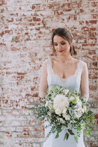 Winterhochzeit Braut