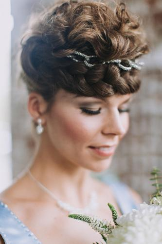 Winterhochzeit Brautjungfer MakeUp